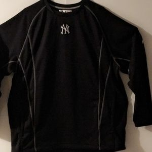 MLB MAJESTIC YANKEES MEN'S THERMA FLEECE / SIZE XL